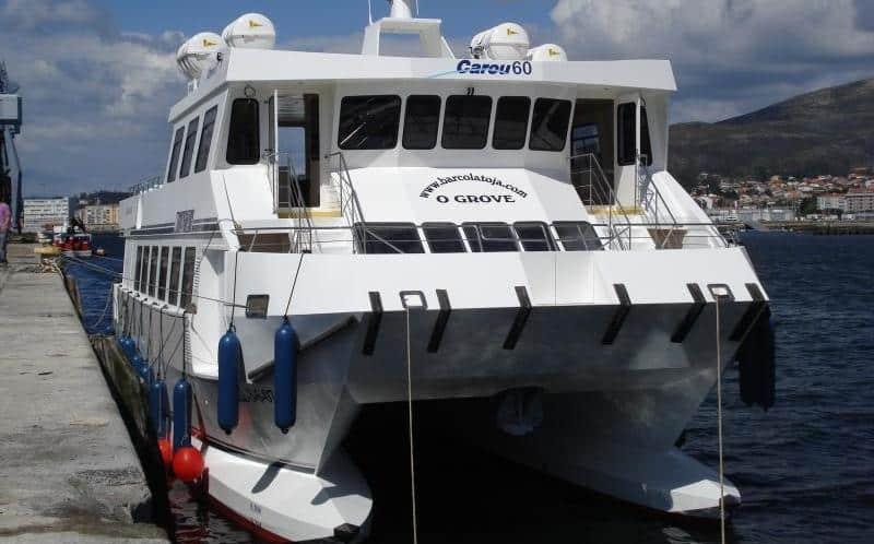 catamaran grande ferry o grove